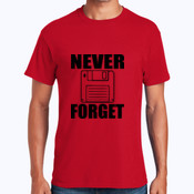 Never Forget - Heavy Cotton 100% Cotton T Shirt