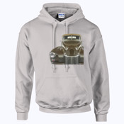 Old Brown - HeavyBlend™ adult hooded sweatshirt