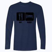 Eat, Sleep, Shoot - Softstyle™ long sleeve t-shirt