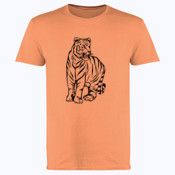 Tiger - Softstyle™ adult ringspun t-shirt