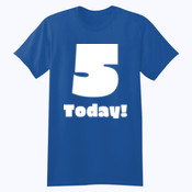 Customizable Childs Birthday T-shirt - Softstyle™ youth ringspun t-shirt