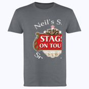 Stag's on Tour Customisable  - Softstyle™ adult ringspun t-shirt