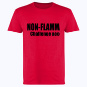 Non - Flammable?  - Softstyle™ adult ringspun t-shirt