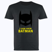 Im her Batman - Softstyle™ adult ringspun t-shirt