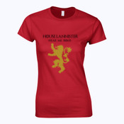 House Lannister - Softstyle™ women's ringspun t-shirt - Softstyle™ women's ringspun t-shirt