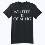 Winter is Coming - Softstyle™ youth ringspun t-shirt