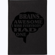 Brains Are Awesome - A4 120 page Hardback Notebook