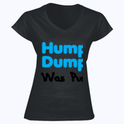 Humpty Dumpty Was Pushed - Softstyle™ women's v-neck t-shirt