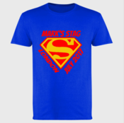 Customisable Super Stag - Softstyle™ adult ringspun t-shirt