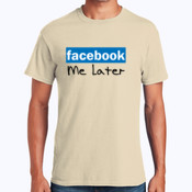 Facebook Me Later