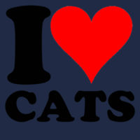I Heart Cats Design
