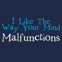 Mind Malfunctions - Heavy Cotton 100% Cotton T Shirt Design