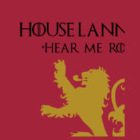 House Lannister - Lady-fit strap tee Design