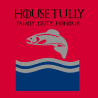 House Tully - Softstyle™ adult ringspun t-shirt Design