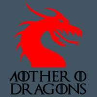 Mother Of Dragons - Softstyle™ women's ringspun t-shirt Design