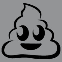 Emoji Poop - Softstyle™ adult ringspun t-shirt Design