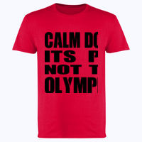 Calm Down Its PE Not The Olympics - Softstyle™ adult ringspun t-shirt Thumbnail