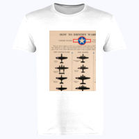 Identifying Warplanes United States - Softstyle™ adult ringspun t-shirt Thumbnail