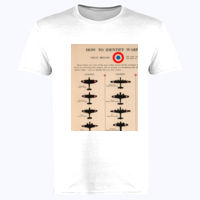 Identifying Warplanes Great Britain - Softstyle™ adult ringspun t-shirt Thumbnail