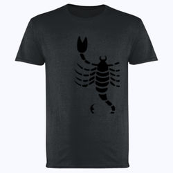 Scorpio in silver - Softstyle™ adult ringspun t-shirt Thumbnail