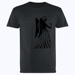 Virgo in silver - Softstyle™ adult ringspun t-shirt Thumbnail