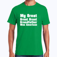 Great Grandfather - Heavy Cotton 100% Cotton T Shirt Thumbnail