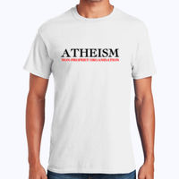 Atheism - Heavy Cotton 100% Cotton T Shirt Thumbnail