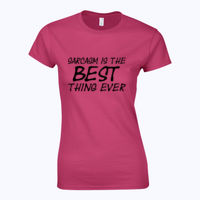 Sarcasm is the best thing ever - Softstyle™ women's ringspun t-shirt Thumbnail
