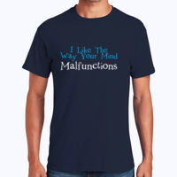 Mind Malfunctions - Heavy Cotton 100% Cotton T Shirt Thumbnail