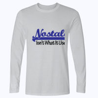 Nostalgia - Softstyle™ long sleeve t-shirt Thumbnail