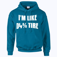 104% Tired - HeavyBlend™ adult hooded sweatshirt Thumbnail