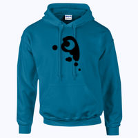 My Little Pony Princess Luna Cutie Mark - HeavyBlend™ adult hooded sweatshirt Thumbnail