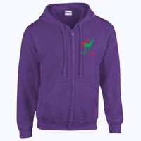 HeavyBlend™ adult full zip hooded sweatshirt Thumbnail