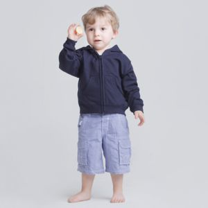 Zip-through toddler hoodie Thumbnail