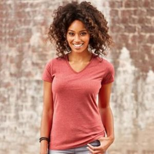 Women's v-neck HD T Thumbnail