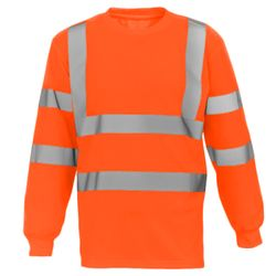 Hi-vis long sleeve t-shirt (HVJ420) Thumbnail