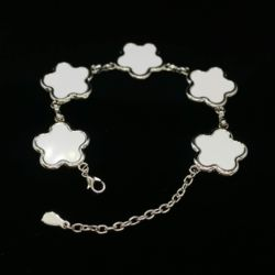 Bracelet With Flower Shape Charms Thumbnail