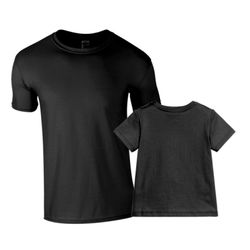 Matching adult and baby tees Thumbnail
