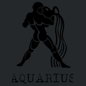 Aquarius in silver - Softstyle™ youth ringspun t-shirt Design