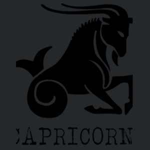Capricorn in silver - Softstyle™ youth ringspun t-shirt Design
