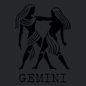 Gemini in silver - Softstyle™ youth ringspun t-shirt Design
