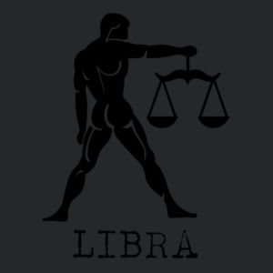 Libra in Silver - Softstyle™ youth ringspun t-shirt Design