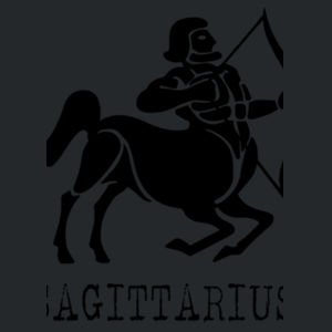 Sagittarius in silver - Softstyle™ youth ringspun t-shirt Design