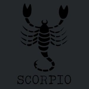 Scorpio in silver - Softstyle™ youth ringspun t-shirt Design