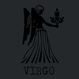 Virgo in silver - Softstyle™ youth ringspun t-shirt Design