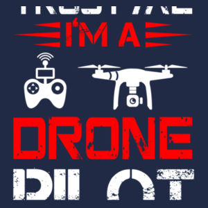 Trust Me I'm A Drone Pilot - HeavyBlend™ adult hooded sweatshirt Design