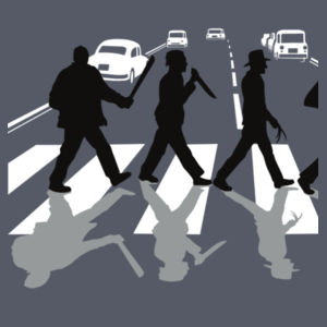 Abbey Road Killers - Softstyle™ adult ringspun t-shirt Design