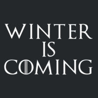 Winter is Coming - Softstyle™ youth ringspun t-shirt  Design