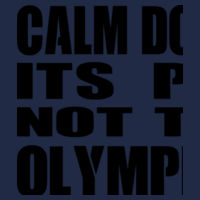Calm Down Its PE Not The Olympics - Softstyle™ adult tank top Design