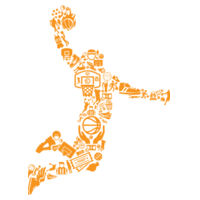 Basketball Player - Softstyle™ youth ringspun t-shirt Design